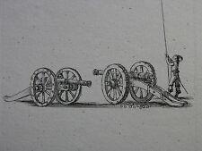 STEFANO DELLA BELLA ´PIKENIER, KANONEN, PIKEMAN, CANNONS´ DE VESME 221, ~1641