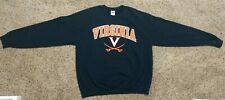 Virginia Cavaliers Gildan Sweatshirt Mens Large Navy Blue EUC