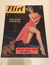 Flirt Magazine Peter Driben Vintage Pinup Girls Girlie Mag RARE October 1949