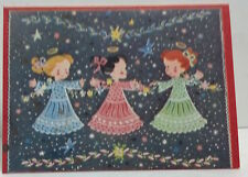 "Miniature ""3 Angels"" greeting cards w/ envelope"