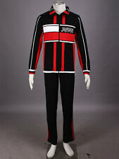 The Prince Of Tennis  Cosplay Japan U17 Winter Black Uniformes Any Size