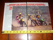 1982 HONDA CR 125 SUZUKI RM 125 YAMAHA YZ 125 KAWASSAKI KX 125 ORIGINAL ARTICLE
