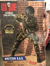 gi joe british sas Box Is Dented But Soldier Is In Good Conditions