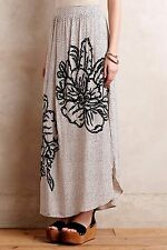 NIP Anthropologie Grandiflora Maxi Skirt by Ranna Gill, L, Beautiful Silky, $148