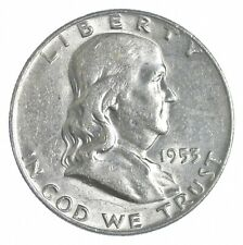 1953-D Franklin Half Dollar - Charles Coin Collection *133