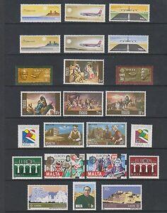 Malta - 1978/92, 49 x Issues - MNH