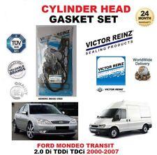 VICTOR REINZ HEAD GASKET SET for FORD MONDEO TRANSIT 2.0 Di TDDi TDCi 2000-2007