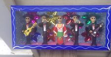 Large Day of the Dead Diorama, Mariachis, Musicians, Mexico, Mexican