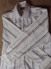 TOPMAN LARGE STRPED MENS SHIRT