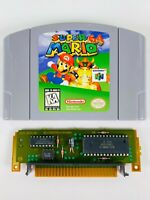 Nintendo N64 Game Super Mario 64 Authentic, Tested, Free Shipping!