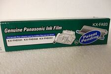 LOT of 4 Panasonic KX-FA93 Thermal Transfer Film Ribbon Cartridge KX-FHD331 NEW