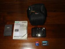 Canon PowerShot G9 12.1 MP Digital Camera W/ BAG 4GB SD CARD MANUAL BUNDLE