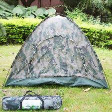 New Folding 4 Person Tents Outdoor Camping Waterproof Four Seasons Tent with Bag