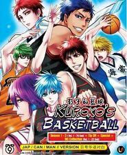 DVD Kuroko's Basketball Season 1-3 TV 1-78end +Tip off + Special+NG+ Free 1Anime