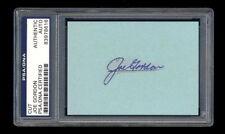 Joe Gordon Signed Cut Mint Psa/Dna Slabbed Autographed New York Yankees Wsc Hof