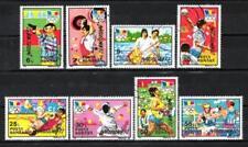 JO été Roumanie (21) série complète de 8 timbres oblitérés