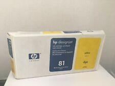 HP Designjet 5000 Series Yellow Ink Cartridge, Printhead and Cleaner c4993a New