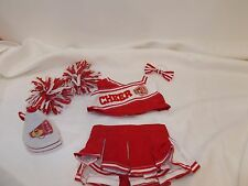 Build a Bear Workshop Red and White Cheerleader Uniform