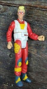 Vintage Kenner 1988 The Real Ghostbusters Egon Spengler Screaming Heroes Figure