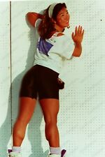 Pretty Pinup Girl Athletic Muscular Woman original 35mm Negative Ri16