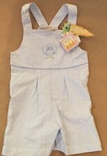 Boys OVERALLS Outfit Bunnies by the Bay Toddller Boutique  SiUMMER 9-12 Month