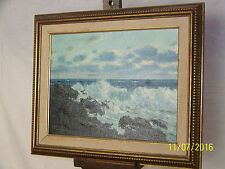 "Herbert Foerster American Listed Artist ""Novia Scotia Coast"" Original Oil/Canvas"