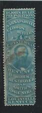 RS 43a--DR JOHN BULL 4 CENT-- PRIVATE DIE  MEDICINE STAMP--50