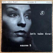 """Emcee 5 - Let's Take Five! Ian Carr UK British Jazz 7"""" Columbia 1962 NM"""
