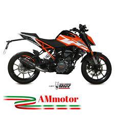 Mivv Ktm 125 Duke 2018 Terminale Di Scarico Marmitta Suono Black Moto Omologato
