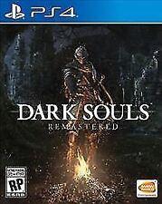 Dark Souls: Remastered (Sony PlayStation 4, 2018) PS4