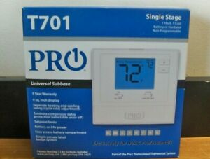 NEW PRO1 T701 SINGLE STAGE 1H/1C NON PROAMMABLE THERMOSTAT FREE FAST 1ST CLS S&H