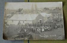 WW1 REAL PHOTO MARCH TO FREEDOM COLUMN AT TARALGA NSW 10/8/1918 #3