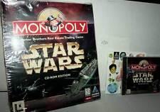 MONOPOLY STAR WARS GIOCO USATO OTTIMO STATO PC CDROM VERSIONE USA DM1 30135