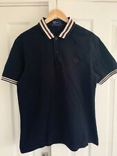 Fred Perry Polo Shirt Large L Mod