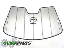 2010-2013 Mazda 3 Windshield Sun Screen OEM BRAND NEW Genuine
