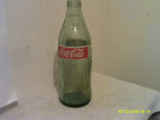 VINTAGE COCA-COLA GREEN GLASS  1 LITER SODA RETURN FOR DEPOSIT BOTTLE ....#3