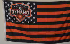 Houston Dynamo USA Stars and stripes  Flag Deluxe Banner 3'x5'Feet