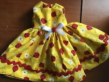 HANDMADE DOLL CLOTHES FITS AMERICAN GIRL WELLIE WISHERS LADY BUGS