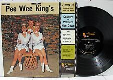 Rare Country LP - Pee Wee King's Country & Western Hoe-Down - Autographed - Cuca