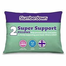 Slumberdown Cuscino Supporto Super, confezione da 2, adatto per posteriore e laterale traversine