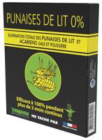 PUNAISES DE LIT 0%  PLAQUETTE INSECTICIDE POUR LITERIE EFFICACE 100%