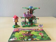 Lego Friends Olivia's Tree House Set 3065 100% Complete With Instructions