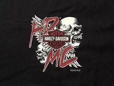 Harley Davidson HDMC Skull Black Shirt Nwt Men's XXL