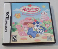 Nintendo DS Game Cartridge Strawberry Shortcake Strawberry Land Games with Case