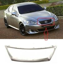NEW LEXUS IS250 IS350 2006 - 2009 FRONT UPPER CENTER BUMPER GRILLE FRAME CHROME