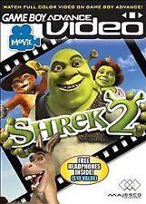 Game Boy Advance Video: Shrek 2 (Nintendo Game Boy Advance, 2005) GBA Video