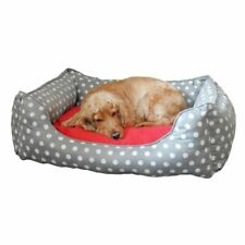 Pet Rebellion Memory Foam Dog Bed Soft Cosy Warm Extra Comfy Comfort Grey*