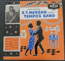 E.T. Mensah and his Tempo's Band Vinyl 10inch Rare African Ghana 1958 Highlife