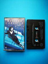Belinda Carlisle : Heaven On Earth- Cassette Tape Album 1987. Go Go's Singer