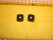 Mercedes W124 E320C 300CE front  RIGHT & Left BLACK seat switch side 2 Covers